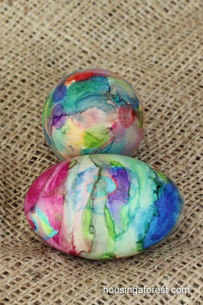 sharpie dye egg